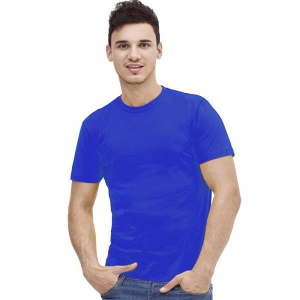 Футболка мужская StanAction, размер 48, цвет синий 160 г/м 51