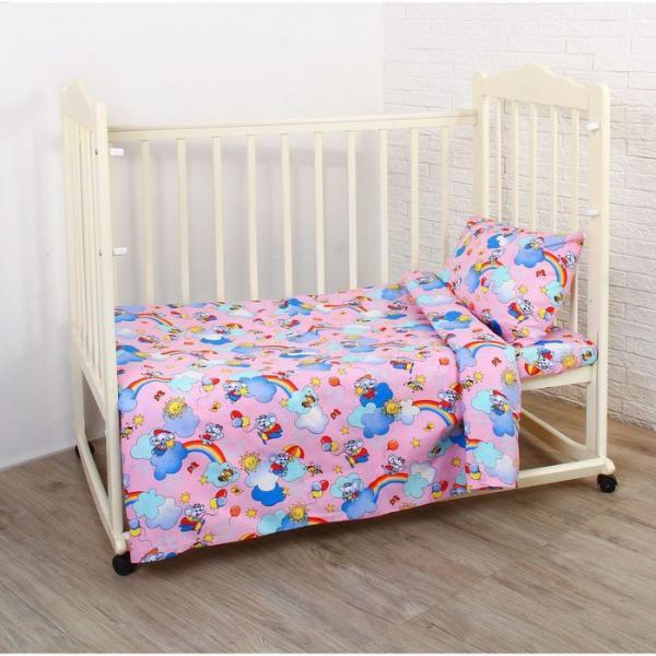 Комплект постельного белья, цвет микс ЯВ036924