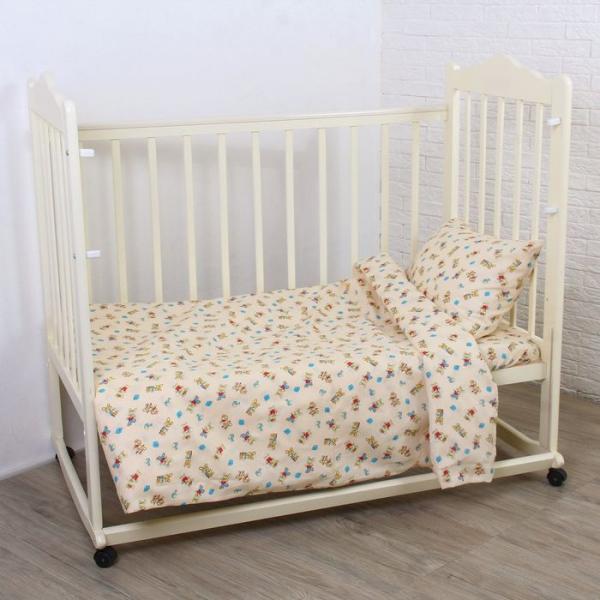 Комплект постельного белья, цвет микс ЯВ045223