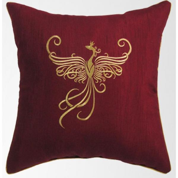 Подушка декоративная с вышивкой, размер 45х45 см 21401011-fs25