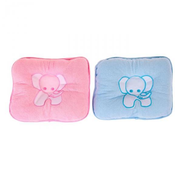Подушка детская ортопедическая «Слоник», цвета МИКС