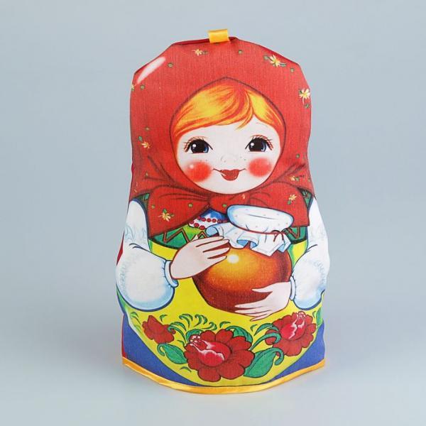 Грелка на чайник «Матрёшка», с горшочком