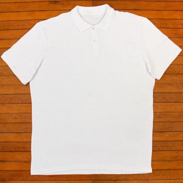 Футболка мужская поло цвет белый, р-р S