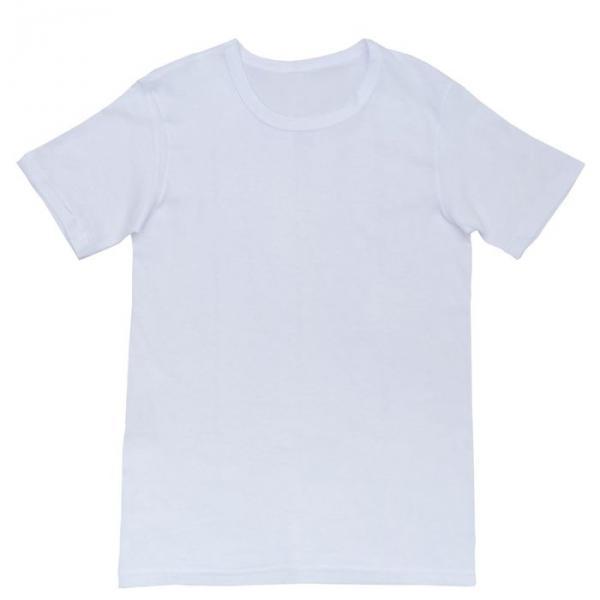 Футболка однотонная женская цвет белый, р-р L