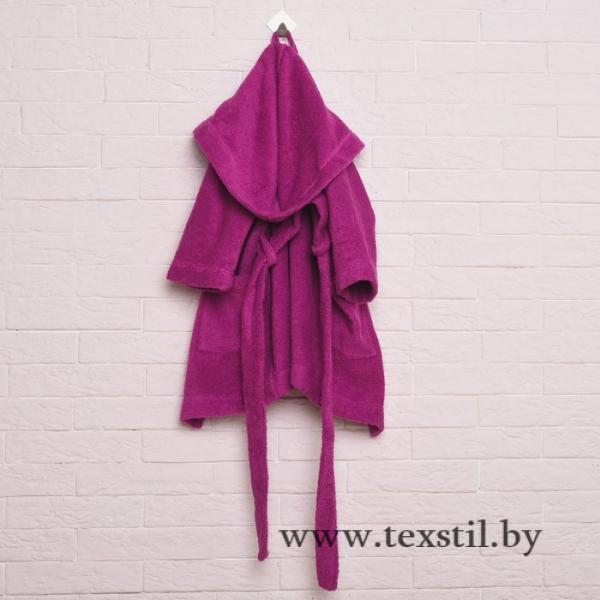 Фото Одежда и обувь, Детская одежда, Одежда для девочек, Халаты для девочек Халат махровый детский, размер 28, цвет розовый, 340 г/м2 хл.100% с AIRO