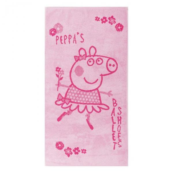 Полотенце махровое Пеппа Балерина, 30*60, хл100 420 гм