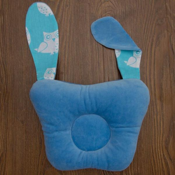 """Подушка анатомическая """"Сплюшка"""", размер 30 х 21 см, цвет голубой"""
