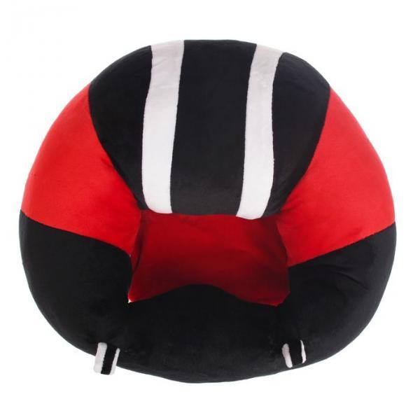 Подушка-позиционер для новорождённых, цвет красный