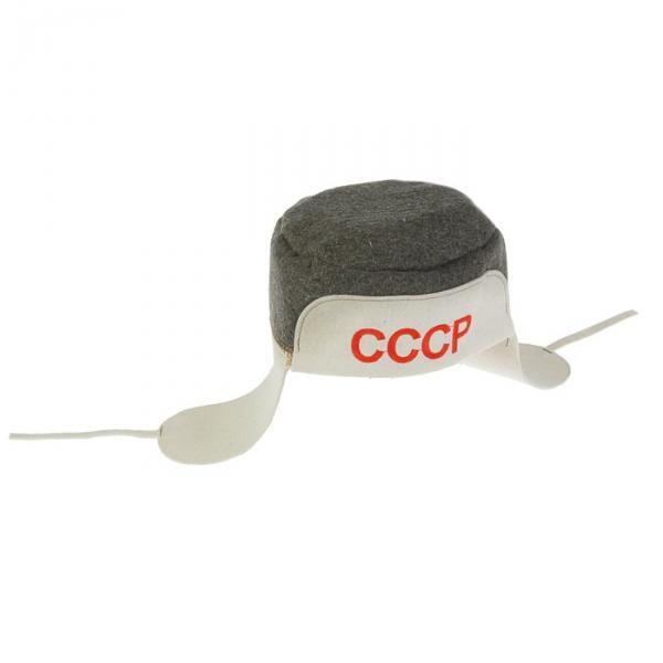 Банная ушанка «СССР»