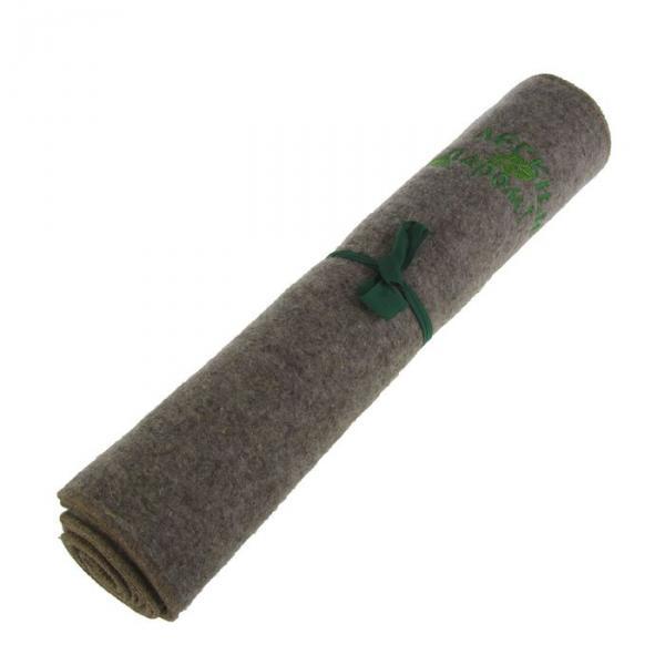 """Лежак для бани """"С лёгким паром"""", войлок, серый, 150х50см"""