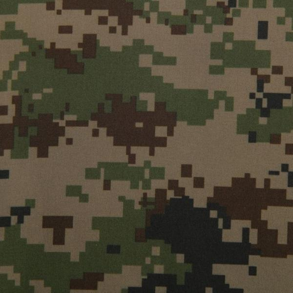 Ткань курточная ДЮСПО БОНДИНГ, принт ягель, 60 пог. м.