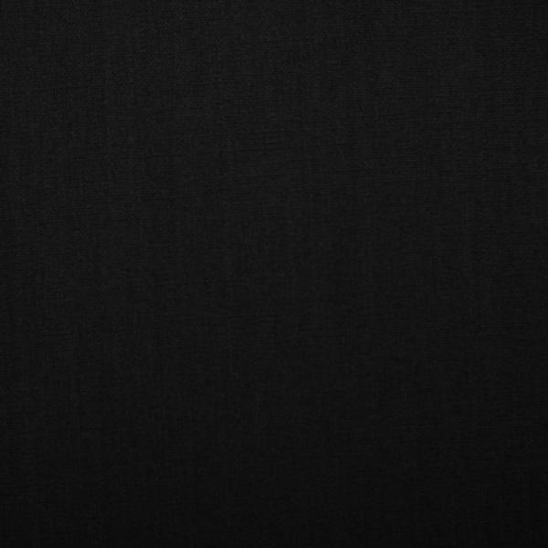 Ткань сорочечная, цвет черный, 105 пог. м.