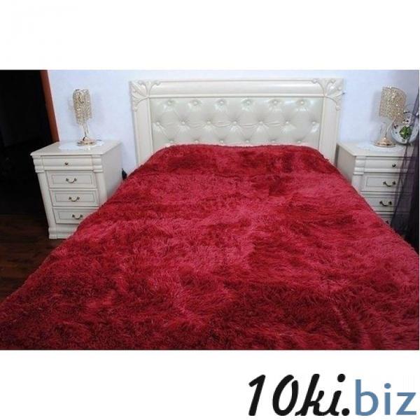 Плед-Покрывало 220х240см, цв.бордо, искусственный мех, 435г/м, пэ100% купить в Гродно - Детские пледы, одеяла