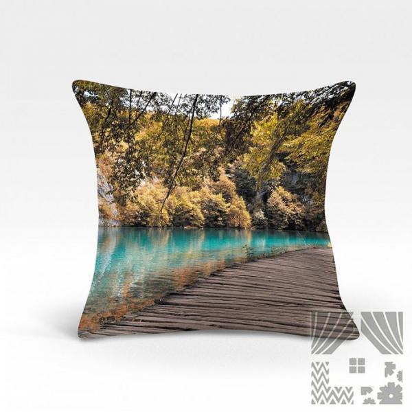 Подушка декоративная, размер 45х45 см 966853