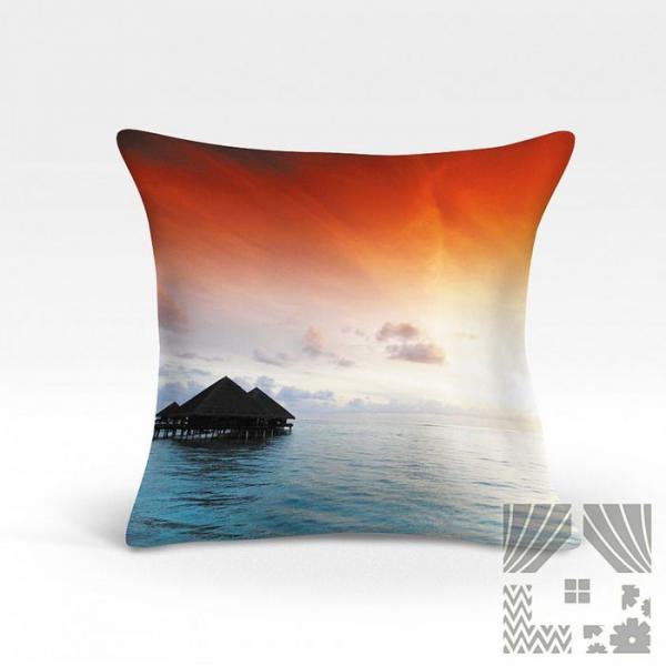 Подушка декоративная, размер 45х45 см 966933