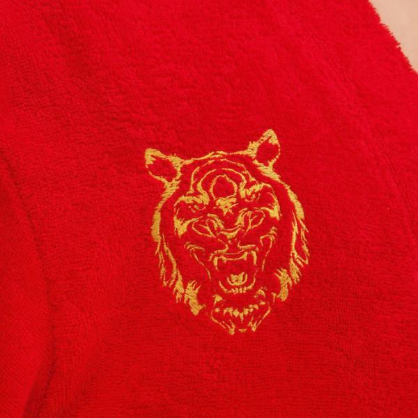 """Халат махровый жен. """"Тигр"""" р-р 50-52, 340 г/м2, хл. 100% с AIRO"""