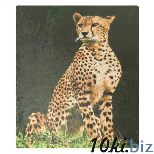 Плед ворсистый двусторонний 127х152 см Леопард, микрофибра 270 гр/м купить в Гродно - Детские пледы, одеяла