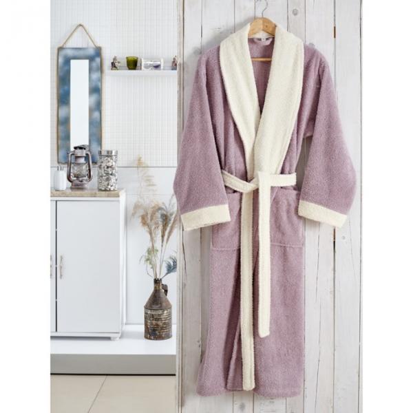 Халат махровый Adra, размер L/XL, цвет лаванда, 350 г/м2