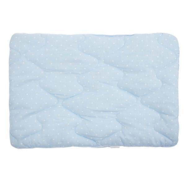 Подушка, размер 40х60 см, цвет голубой, хлопок/файбер 450 г/м  P3111821