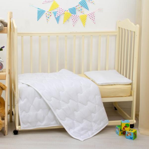 Одеяло стеганное, размер 105х140 см, пэ/файбер 200 г/м ma57061