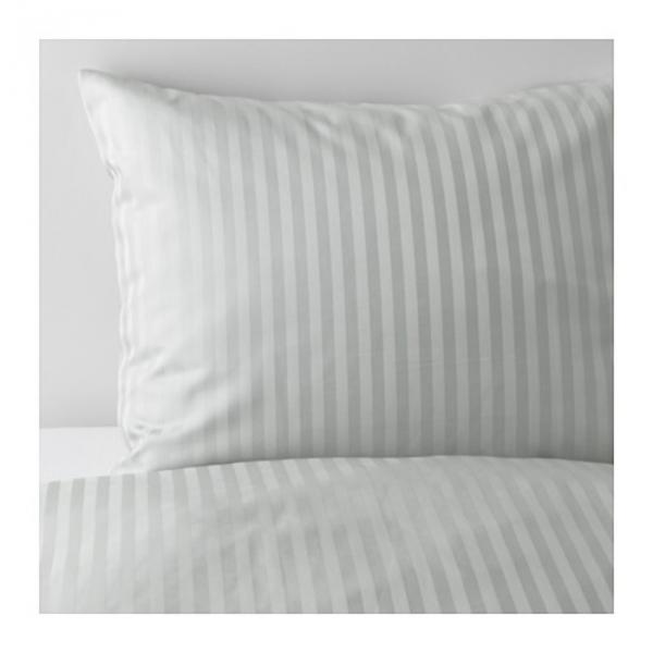 КПБ НАТТЭСМИН, размер 150х200 см, 50х70 см-1 шт., цвет светло-серый