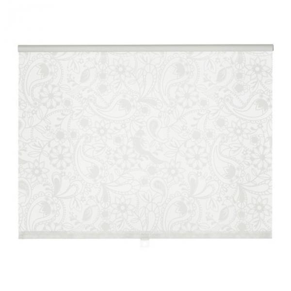 Штора рулонная ЛИСЕЛОТТ, размер 120х195 см, цвет белый