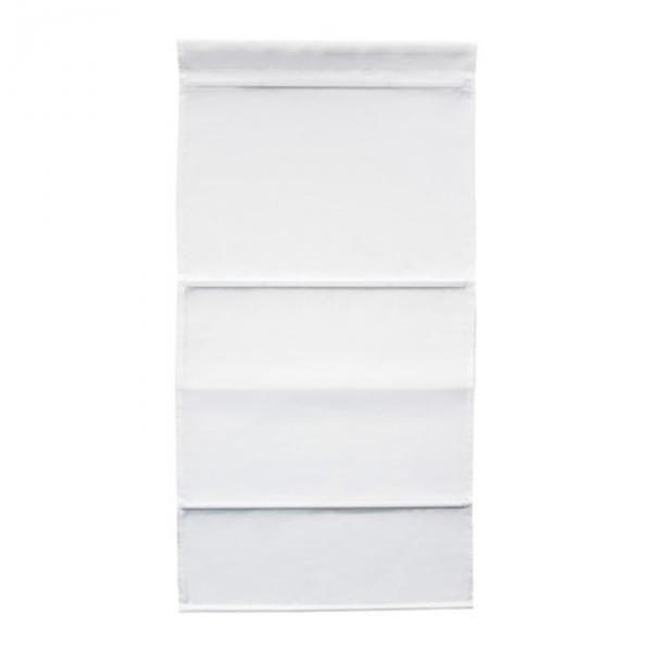 Штора римская РИНГБЛУММА, размер 80х160 см, цвет белый