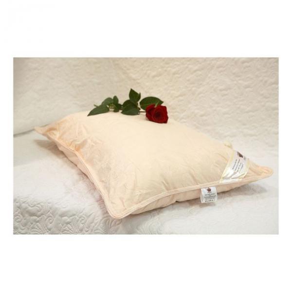 "Подушка ""Elisabette"" Элит, размер 70х70 см, цвет бежевый, шёлк E-AA70"