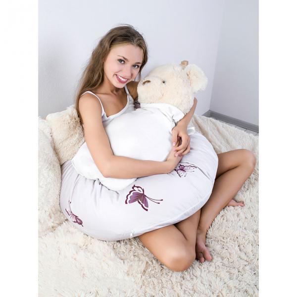Подушка СОНЯ + СУМКА 35см x 190см, лебяж.пух