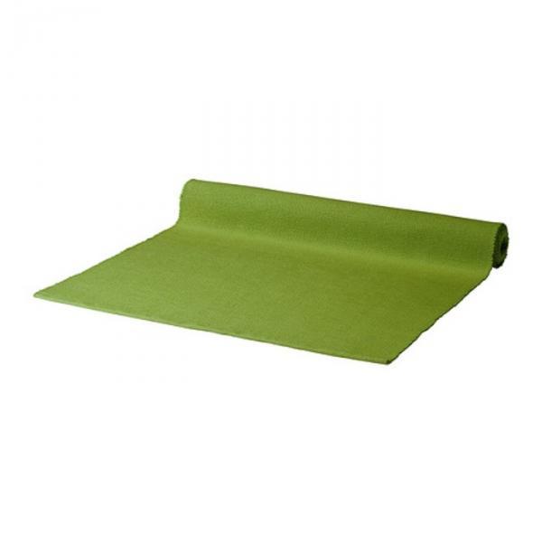 Дорожка настольная МЭРИТ, размер 35х130 см, цвет зелёный