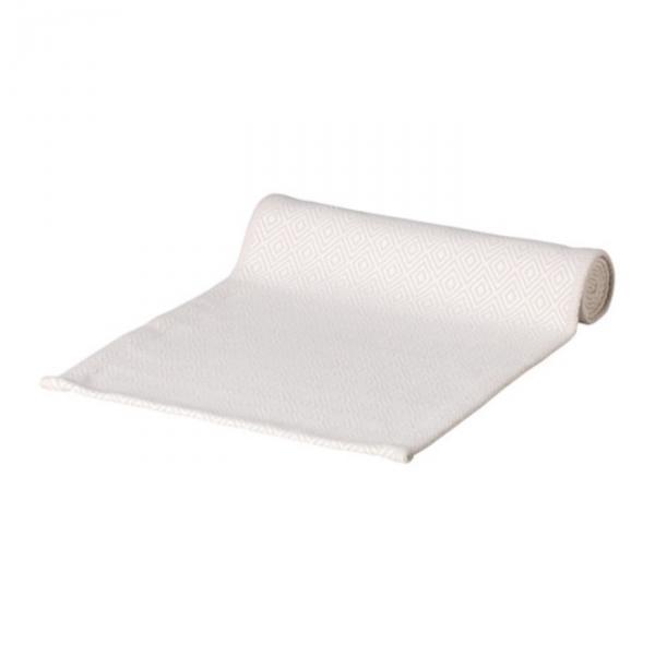 Дорожка ГОДДАГ, размер 35х130 см, цвет бежевый/белый