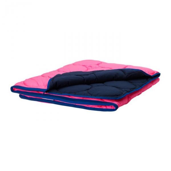 Спальный мешок ИКЕА ПС 2017, размер 160х200 см, цвет розовый/синий