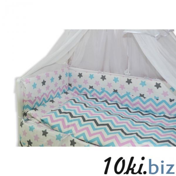 """Комплект в прямоугольную кроватку """"Звёздные сны"""", 7 предметов купить в Гродно - Детское постельное белье"""