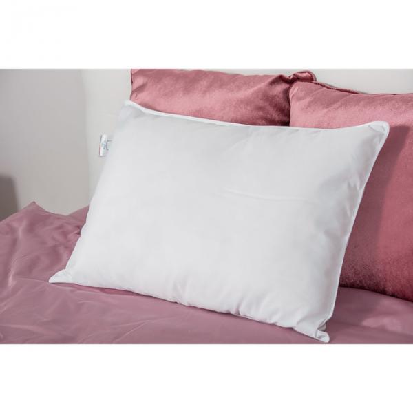 Подушка Sweety 70*70, белый,полиэф. Волокно 100% п/э, 1,05 кг Чехол: Микрофибра 100% п/э