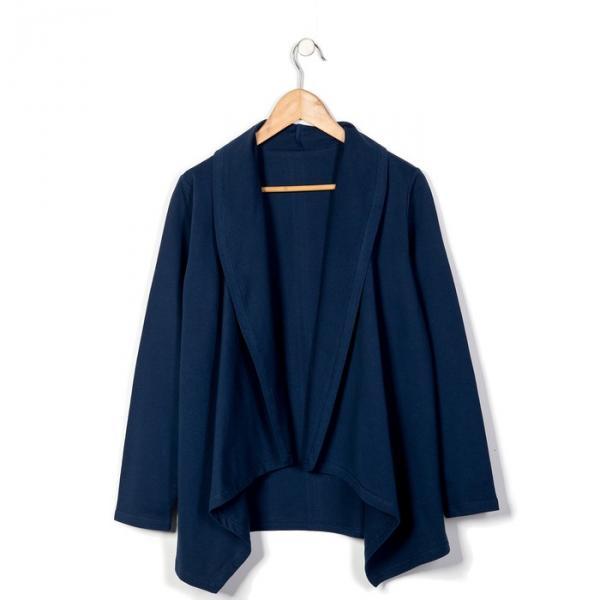 Джемпер женский LJ 08-005 цвет тёмно-синий, р-р 52