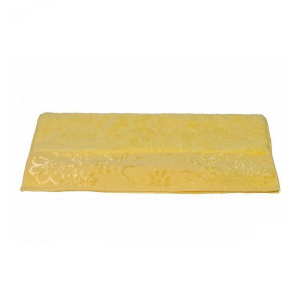 """Махровое полотенце """"DORA"""", размер 30x50, цвет жёлтый"""