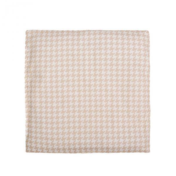 Подушка детская плоская 40х40 см цв 1767-3, синтепон, поплин