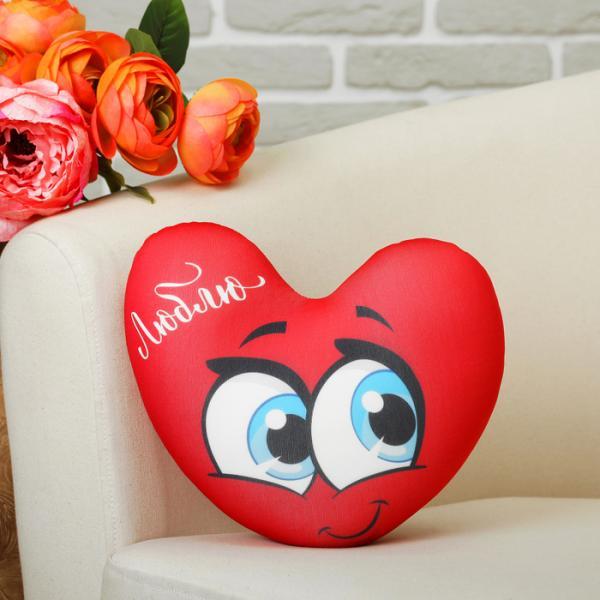 """Мягкая игрушка-антистресс Сердце """"Люблю с крыльями"""""""