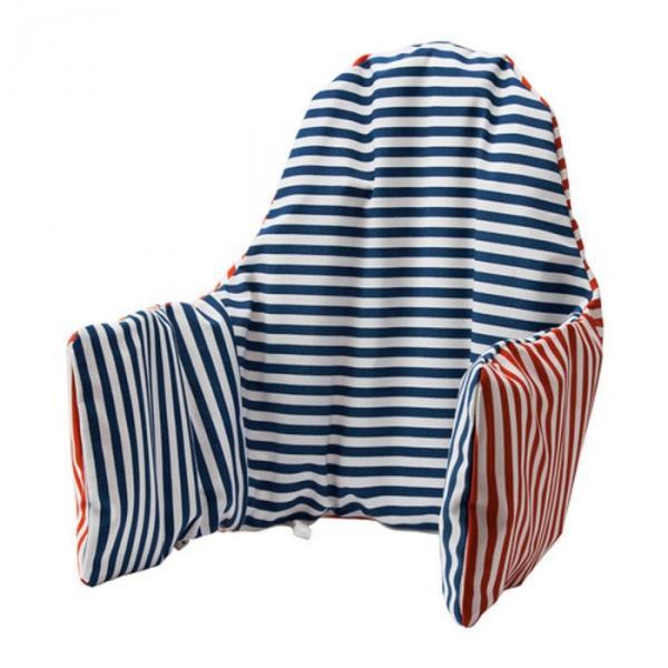Подушка поддерживающая ПЮТТИГ, размер 39х92 см, цвет красный/синий