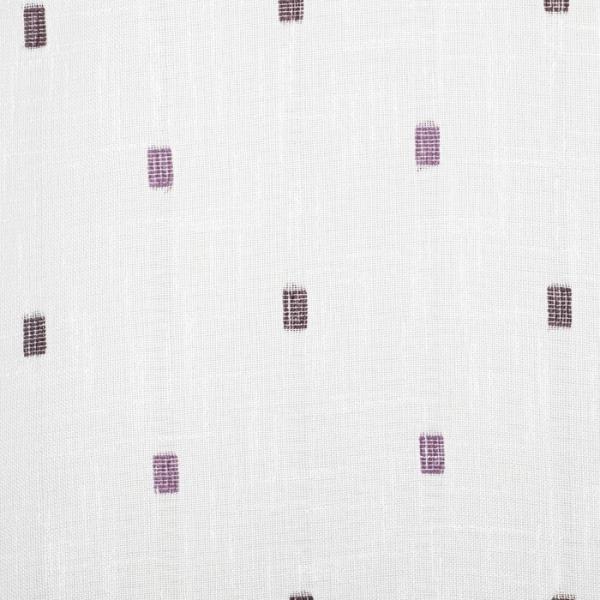"""Тюль """"Этель""""135х260 см Геометрия фиолетовый 100% п/э"""