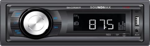 Автомагнитола Soundmax SM-CCR3057F (черный)