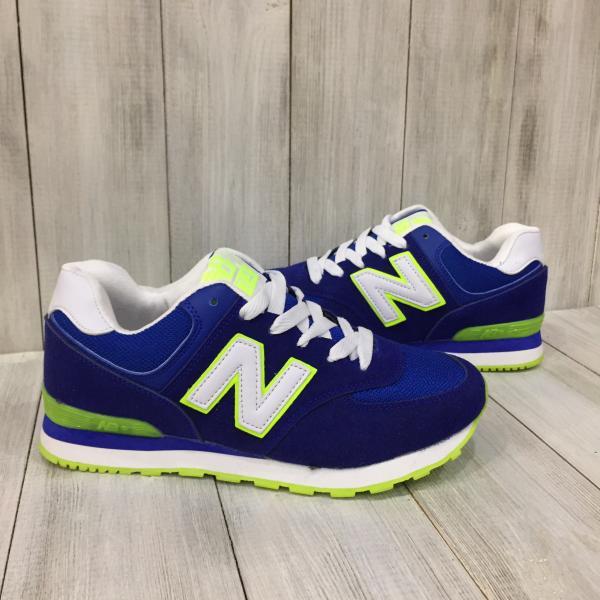 Кроссовки женские New Balance синие