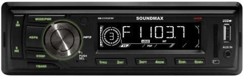Автомагнитола Soundmax SM-CCR3076F