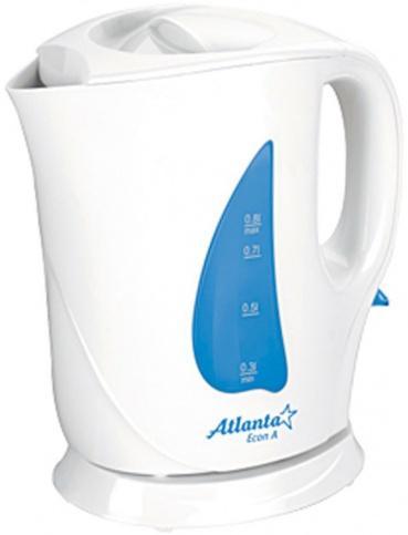 Электрочайник Atlanta ATH-717 (бело-синий)