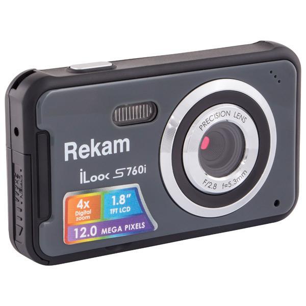 Фотоаппарат компактный Rekam iLook S760i Dark Grey