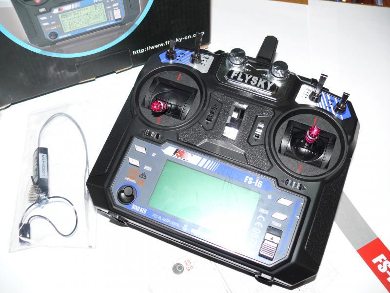 Комплект радиоаппаратуры Flysky FS - I6, 6 каналов, 2,4 гГц
