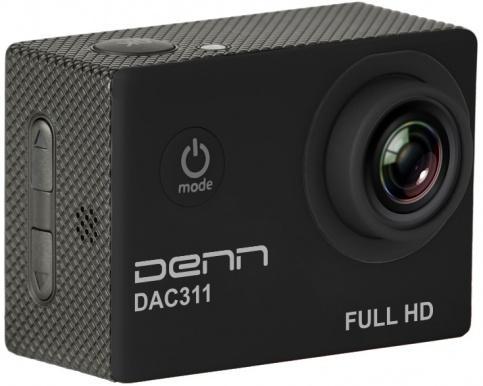 Экшн-камера Denn DAC311 (черный)