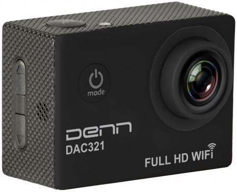 Экшн-камера Denn DAC321 (черный)
