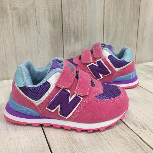 Детские New Balance розовые