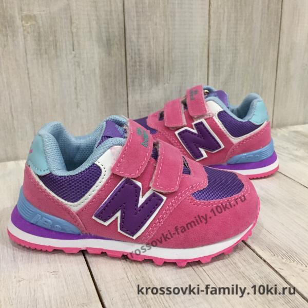 Фото Детские кроссовки Детские New Balance розовые